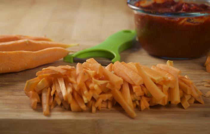 Carrot Sloppy Joes