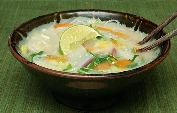 Fall Miso Noodle Soup