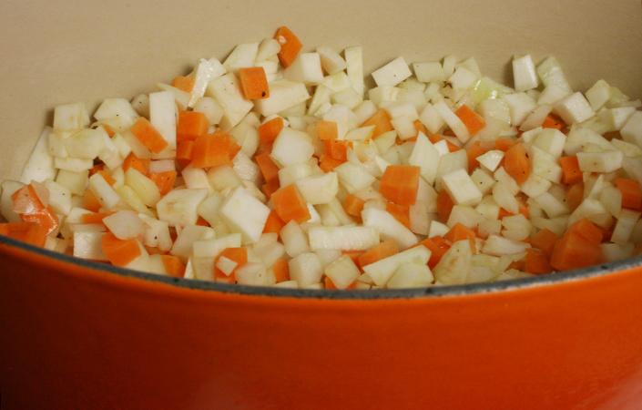 Celeriac Mire Poix