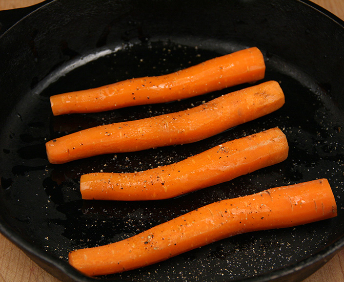 Carrot Hot Dogs by Early Morning Farm CSA