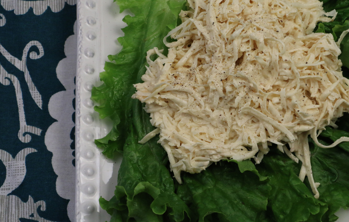 Celeriac Remoulade by Early Morning Farm CSA