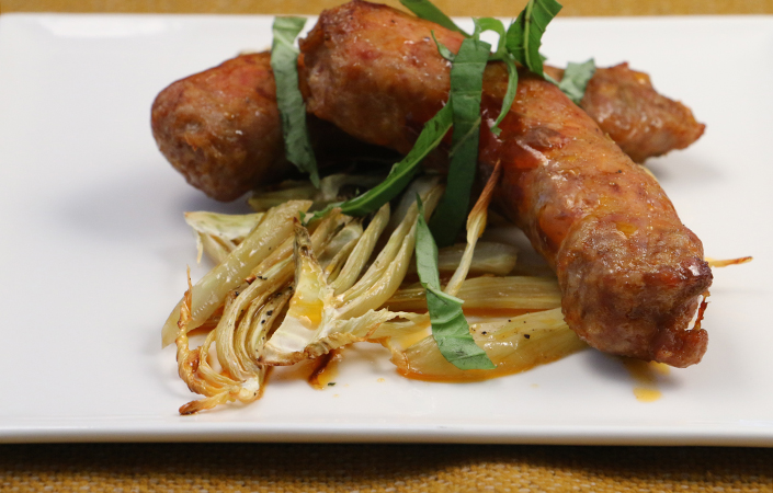 Roasted Fennel and Sausage by Early Morning Farm CSA