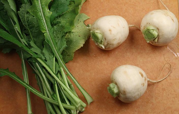 Grilled Hakurei Turnips