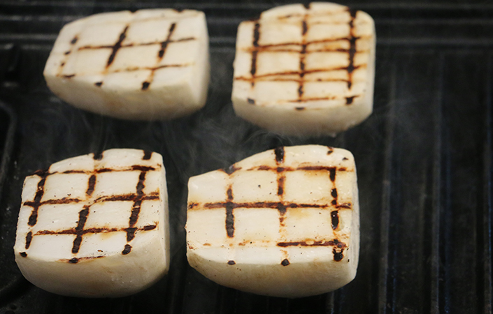 Grilled Hakurei Turnips by Early Morning Farm CSA