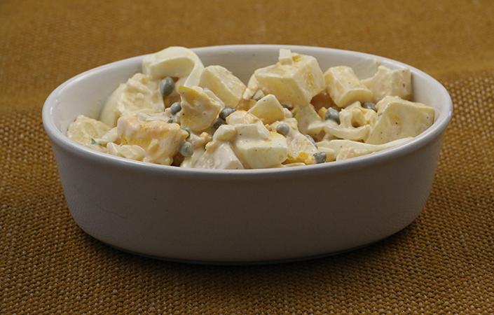 Potato Style Parsnip Salad by Early Morning Farm CSA
