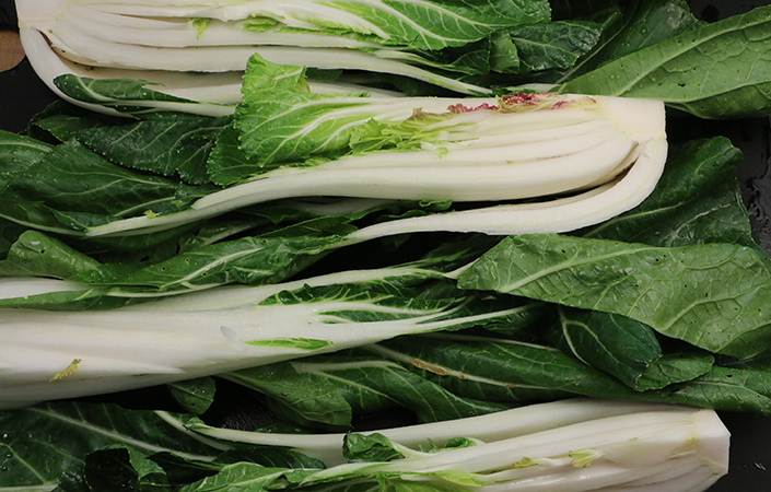 Braised Bok Choy by Early Morning Farm CSA