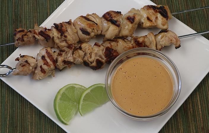 Chicken Satay by Early Morning Farm CSA