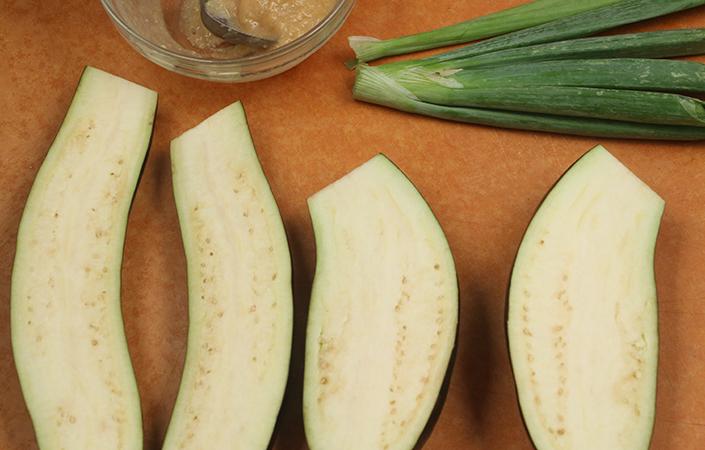 Miso Glazed Eggplant by Early Morning Farm CSA