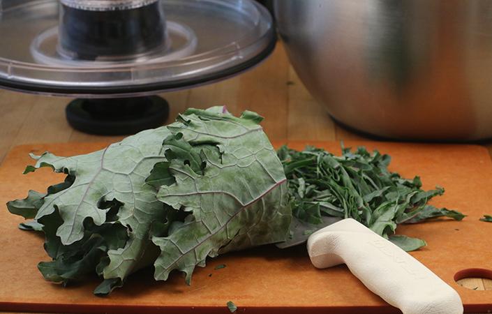 Smoky Kale Salad by Early Morning Farm CSA