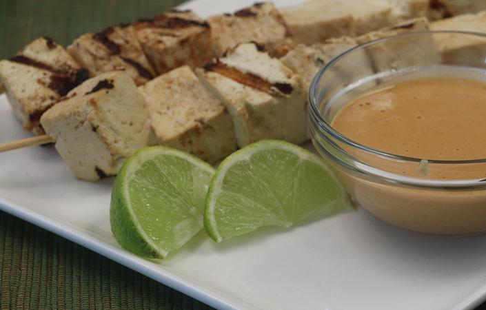 Tofu Satay by Early Morning Farm CSA