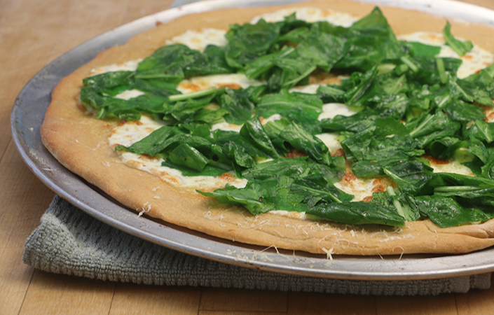 Arugula White Pizza