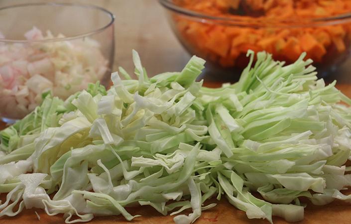 Vegetarian Borscht with Greens