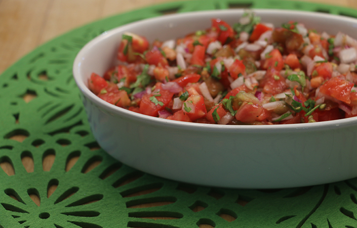Easy Pico De Gallo by Early Morning Farm CSA