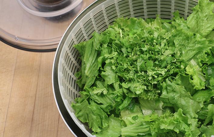 Black Bean Taco Salad by Early Morning Farm CSA