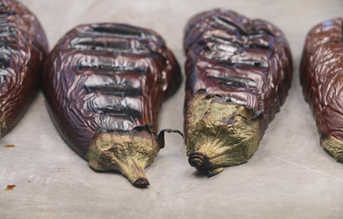 Baba Ghanoush - Smoky Eggplant DIp
