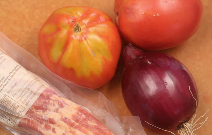 Bacon Tomato Pasta