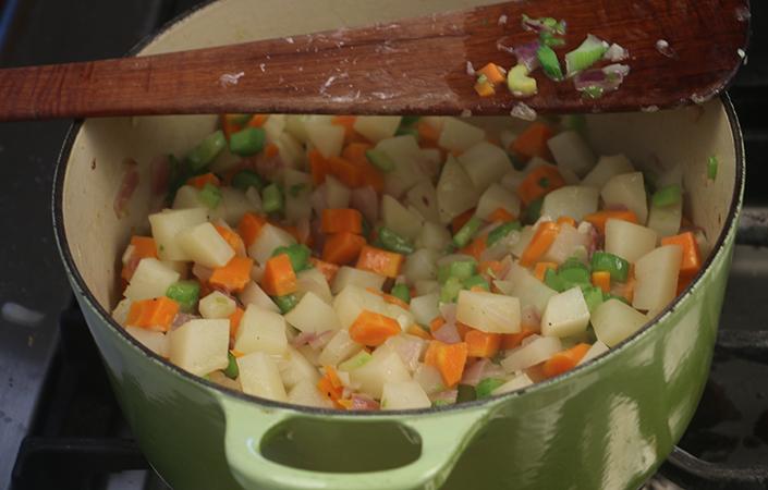 Potato & Celery Chowder