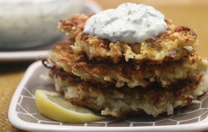 Kohlrabi Fritters