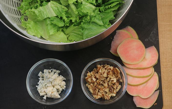 Apple, Blue Cheese, & Walnut Salad