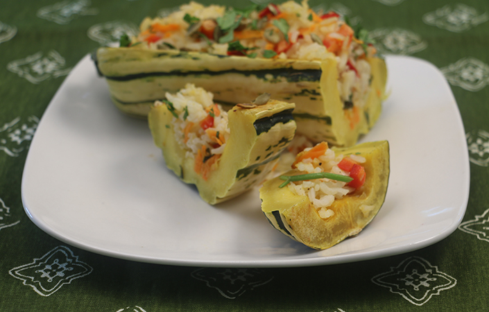 How to Make Stuffed Squash Without a Recipe