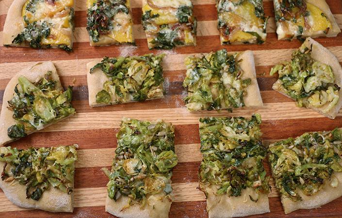 Vegetarian Fall Flatbread
