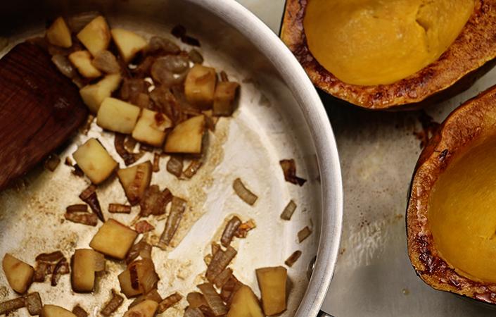 Apple & Acorn Squash Pureé