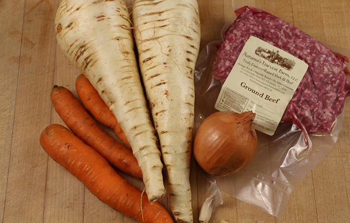 Carrot Parsnip Shepherd's Pie