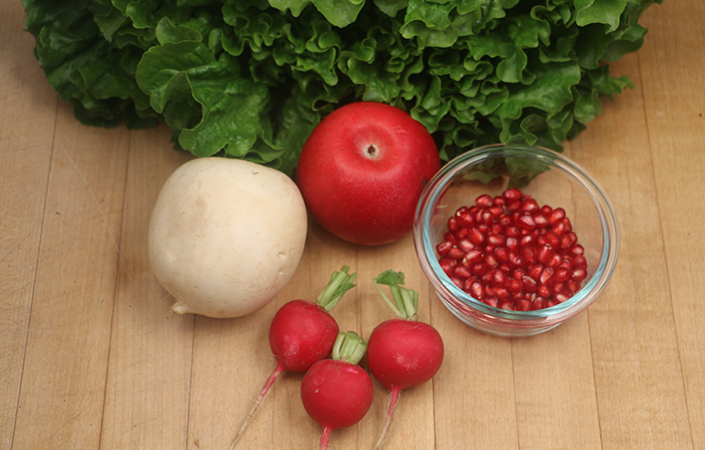 Apple & Pomegranate Salad