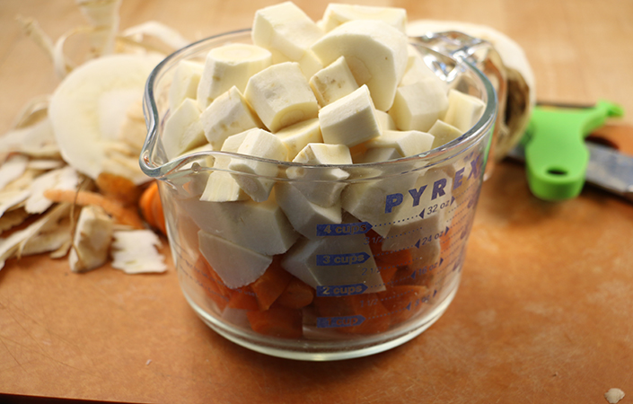 Carrot & Parsnip Puree