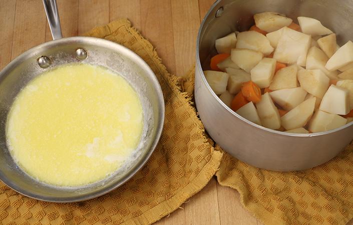 Carrot & Parsnip Purée
