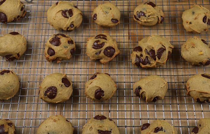Not Pumpkin Cookies