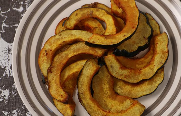 Savory Roasted Acorn Squash