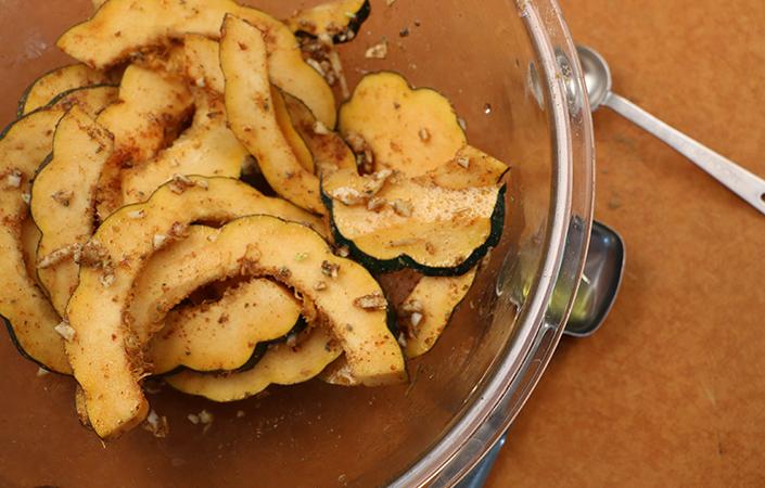 Acorn Squash Quesadillas