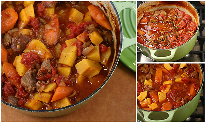 Winter Squash & Lamb Stew