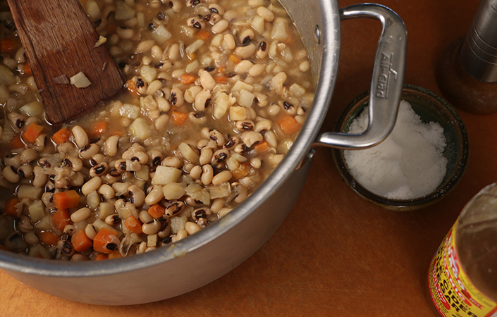 Hoppin John with Celeriac