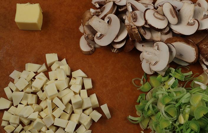 Leek & Wild Rice Soup