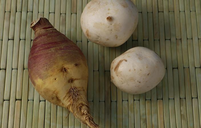 Shaved Root Vegetable Salad