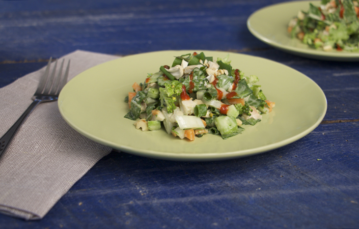 Bok Choy Chopped Salad