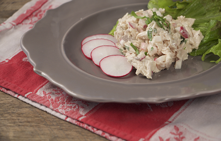 Radish Chicken Salad