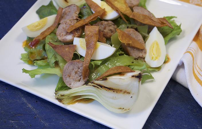 Spanish Chorizo Salad