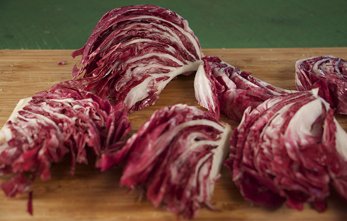 Grilled Radicchio with Balsamic Syrup