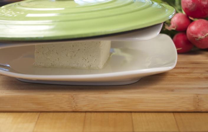Tofu Salad wtih Radishes