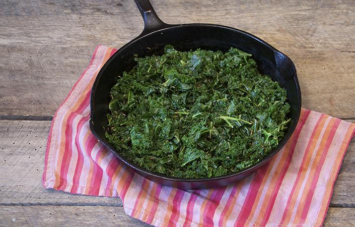 Cumin Scented Kale