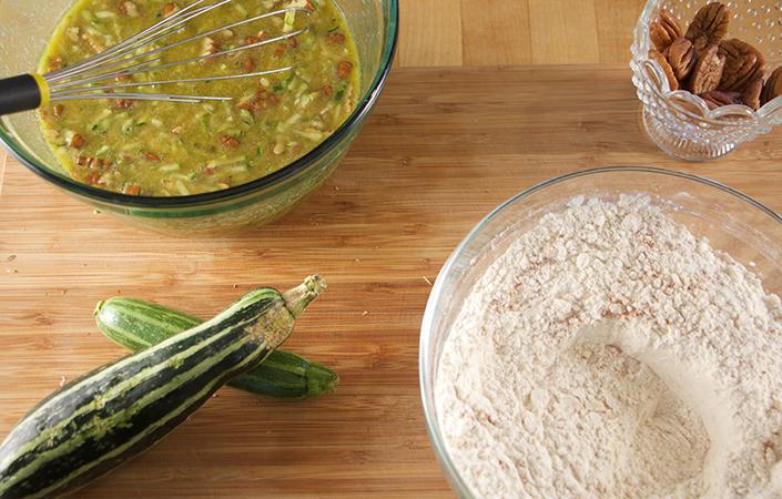 Buttermilk Zucchini Bread