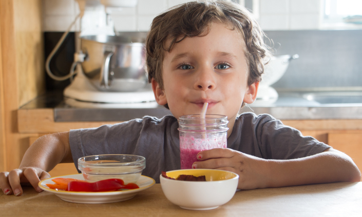 Healthy Afterschool Snacks from Your CSA Share!-2