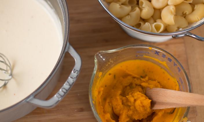 Butternut Squash Macaroni & Cheese