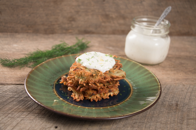 Dilled Potato Latkes-5