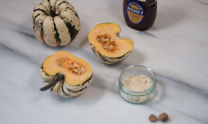 Honey-Almond Winter Squash