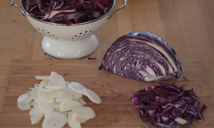 Quick Homemade Sauerkraut