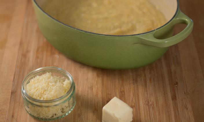 Rosemary Roasted Vegetables & Creamy Polenta